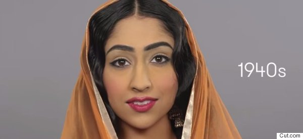 Watch 100 Years of Indian Beauty in Less Than Two Minutes