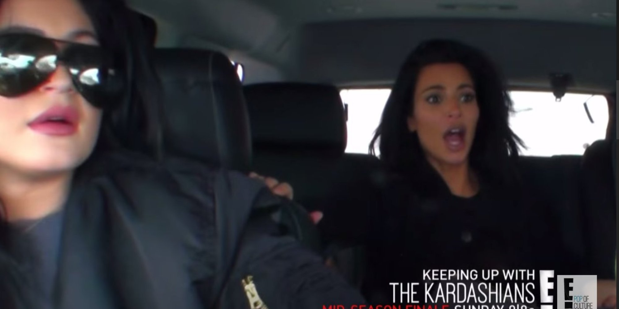 Scary footage from the kardashian car crash reveals kim for What s up with the kardashians