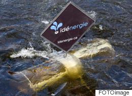 C2 Montréal : des hydroliennes pour alimenter une attraction (VIDÉO)