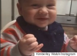 Kimberley And Cheryl Share Cute Video Of Baby Bobby Trying Sour Fruit