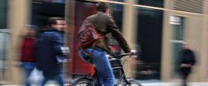 Radfahrer Aggressiv