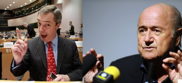 Who Said It: Nigel Farage Or Sepp Blatter?