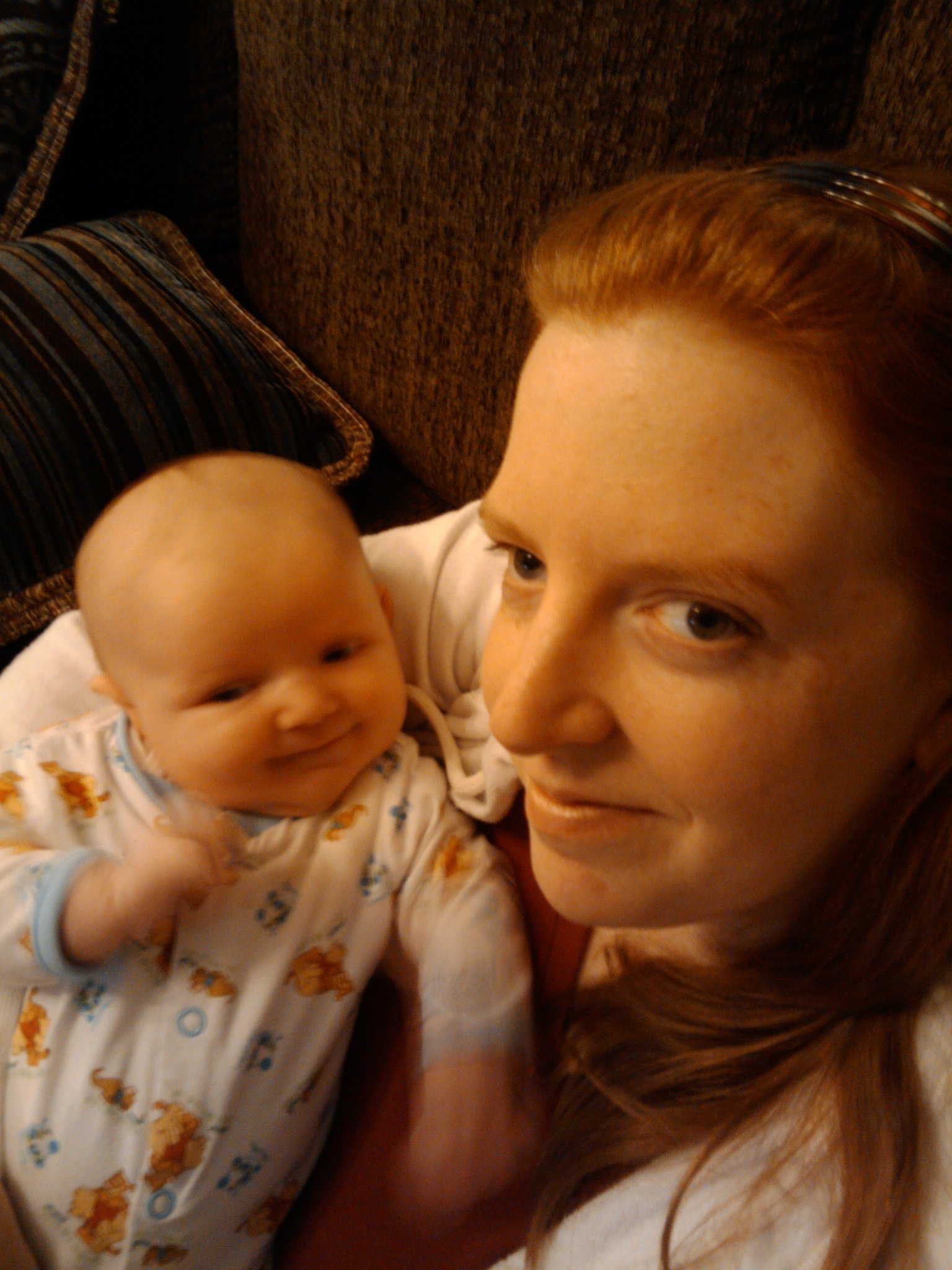 kathleen and baby