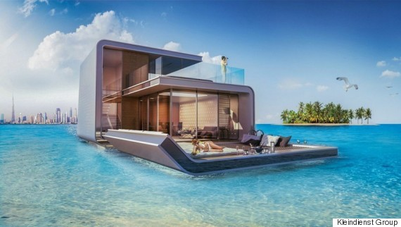Dubais Incredible Partly Underwater Homes Could Soon Go
