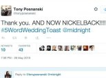 How To Botch A Wedding Toast In 5 Words