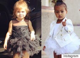 North West And Penelope Disick Channel 'Black Swan'