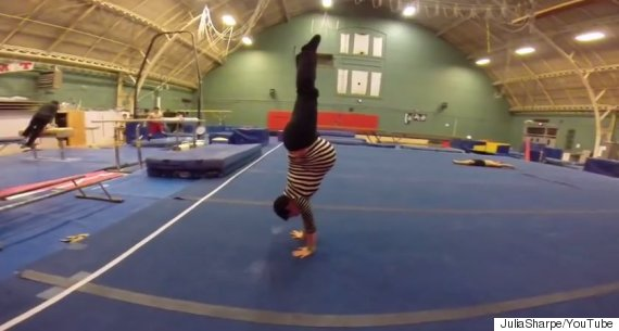 Mum-To-Be Shares Video Of Her Gymnastic Skills While 35 ...