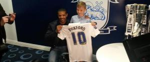 JERMAINE BECKFORD TED DOCKRAY SHIRT SNATCH SIGNED