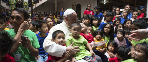 POPE MANILA CHILDREN