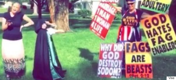 Westboro Baptist Church Are Vine Trolling JK Rowling And It's Excruciatingly Weird