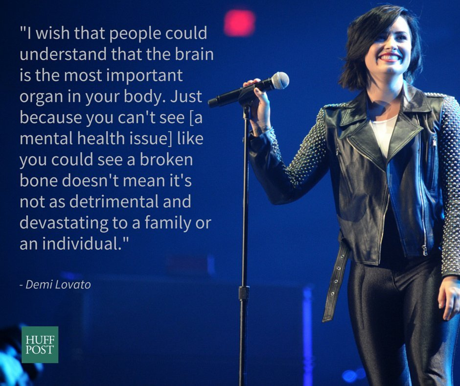 Demi Lovato On Fighting Mental Illness Stigma And Finding