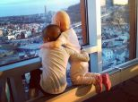 Mom Captures Beautiful Moment Between Little Girls Battling Cancer Together