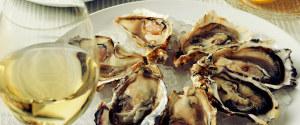 OYSTERS WINE