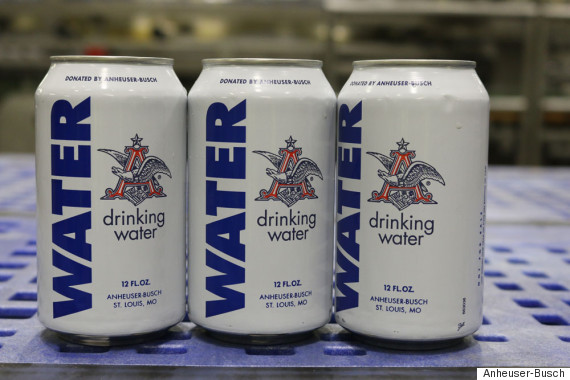 Anheuser-Busch Stops Brewing Beer To Produce Cans of Water