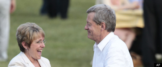MAX BAUCUS MELODEE HANES MARRIED