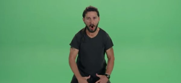 Shia Laboeuf's Motivational Speech Is Like Nothing You've Ever Seen Before