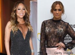 J.Lo y Mariah están ahora entre las peor vestidas de la semana
