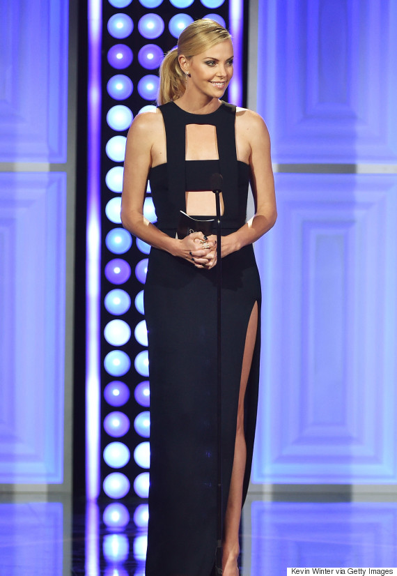 Charlize Theron's Dress At The Critics' Choice Television Awards 2015... Charlize Theron