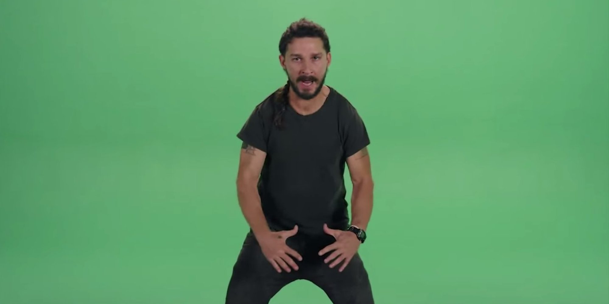 Watch Shia LaBeouf Scream At You For A Full Minute In Bizarre ...
