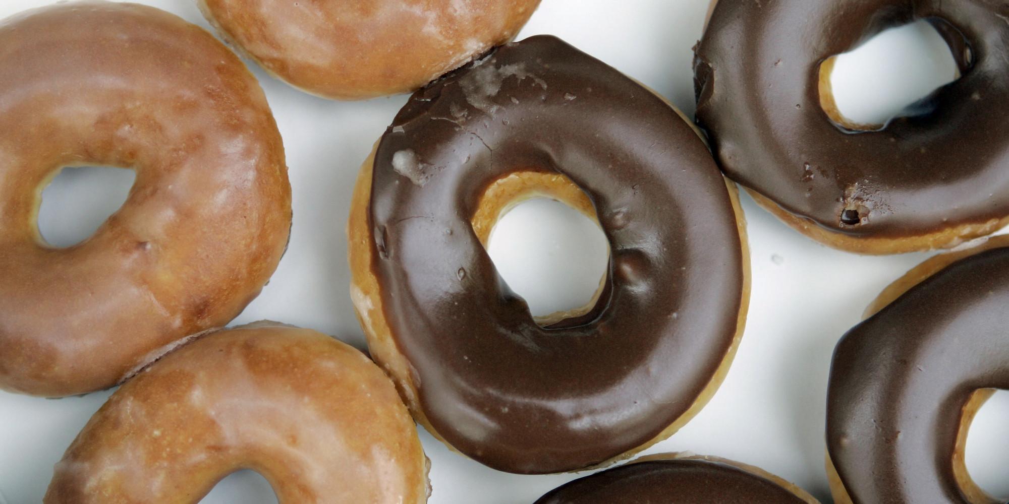 Krispy Kreme Chocolate Cake Donut