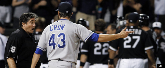 White Sox Royals Balk Off