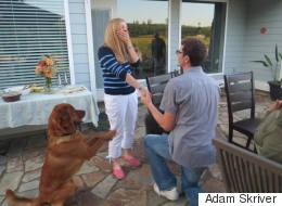 14 Precious Pups Who Helped Their Owners Pop The Question