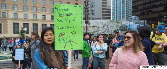 vancouver housing protest