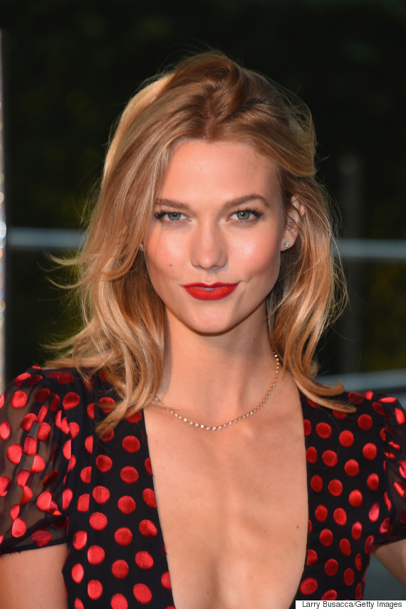 Karlie Kloss On Taylor Swift S Music Video And Ditching Heels On The Red Carpet Huffpost