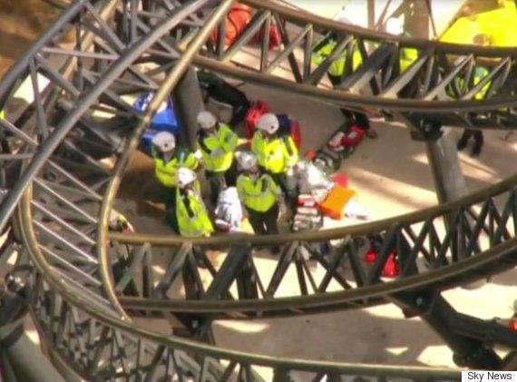 alton towers rollercoaster crash