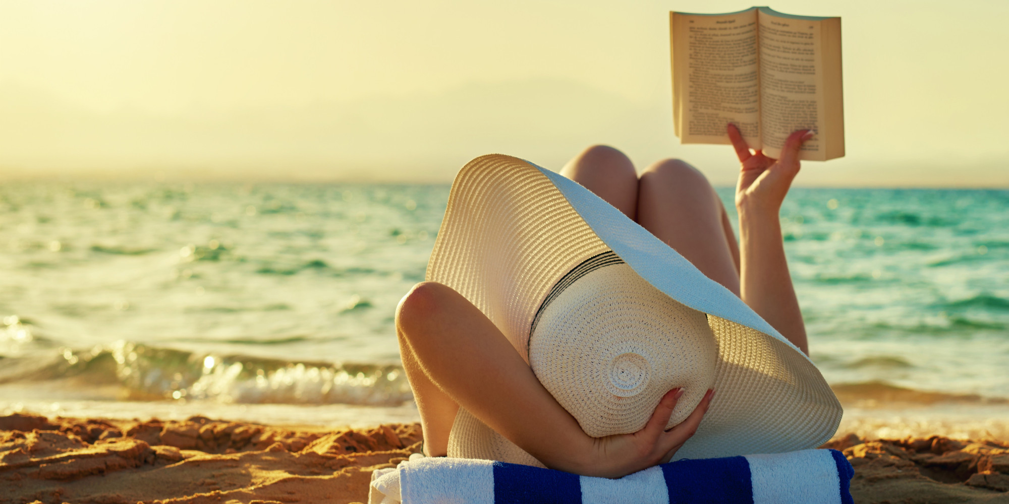 What to do at the beach if you don't like it faviana read a book