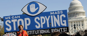 NSA SPYING PROTEST