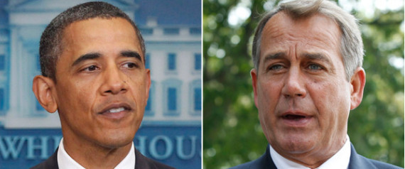Obama Boehner Debt Ceiling Talks
