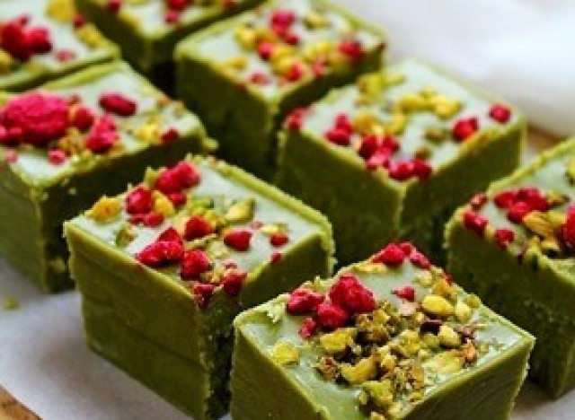 matcha fudge