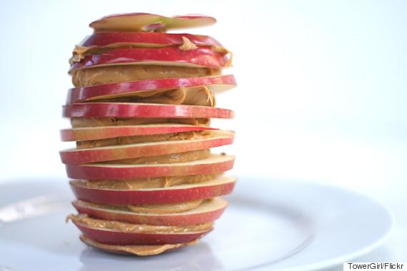 apple peanut butter