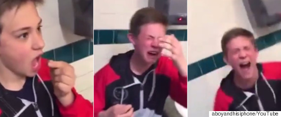 kid eats ghost pepper