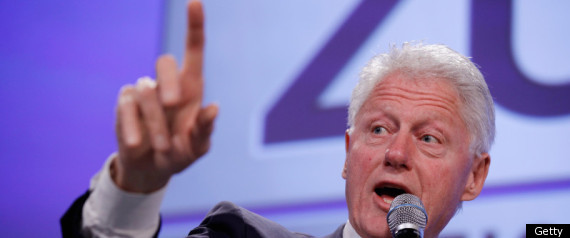 BILL CINTON SPEAKING