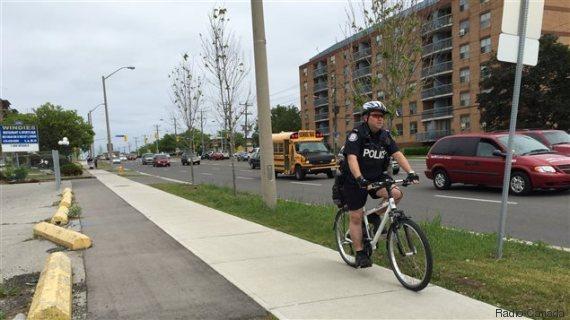 vélo police