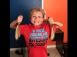 Inspiring Boys Grow Their Hair Long To Help Other Kids