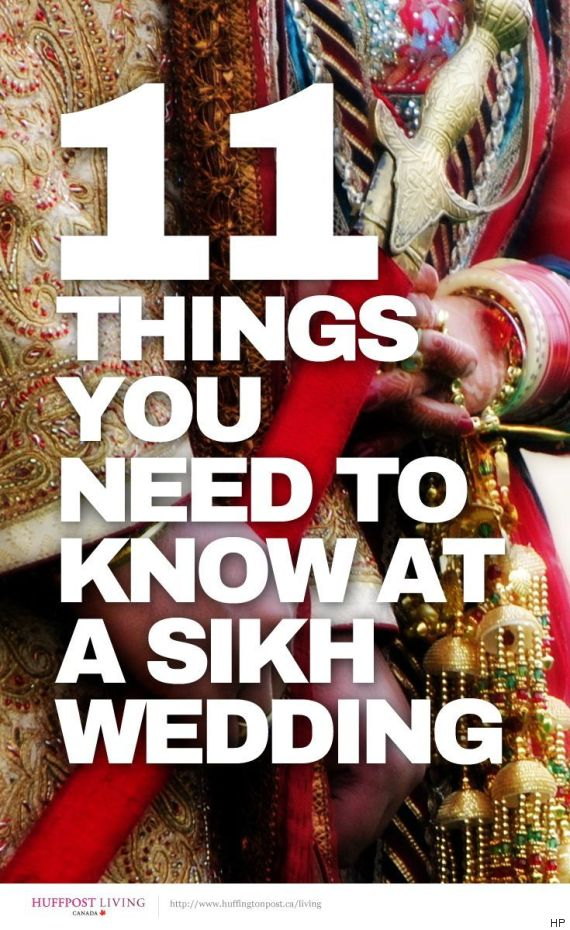 11 Things You Need To Know Before Attend A Sikh Wedding