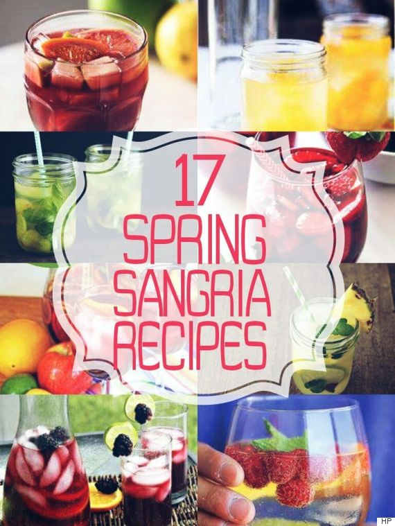 Some drinks just bring warm weather to mind, and sangria is one of ...