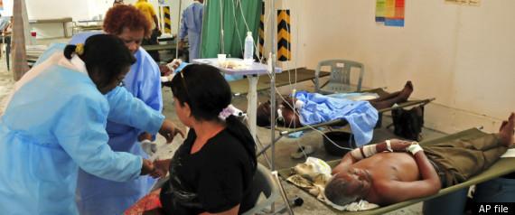 TREATING CHOLERA IN HAITI