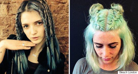 bleach london braids
