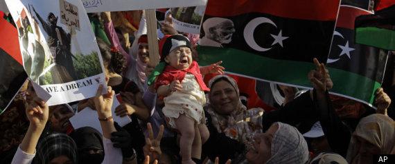 LIBYA REBEL PROTEST