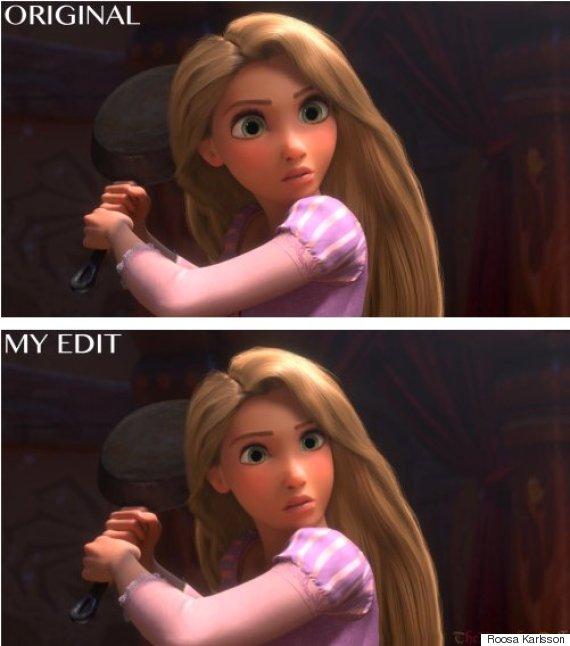 Imagined Disney Characters