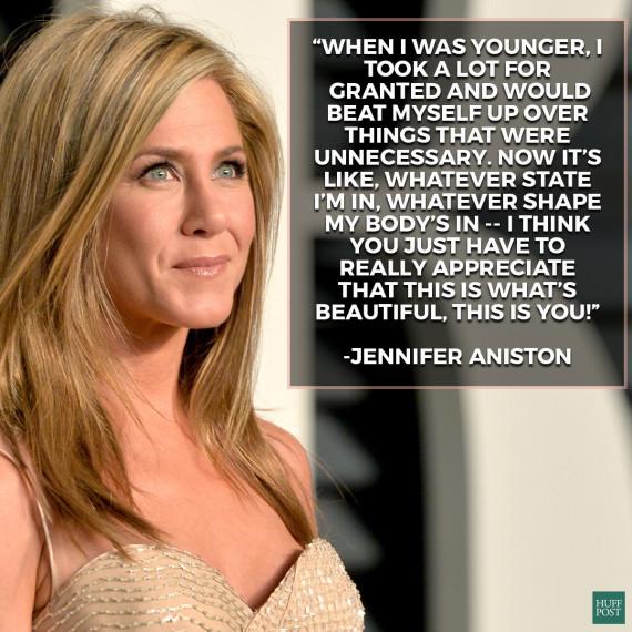 jennifer aniston beauty quote