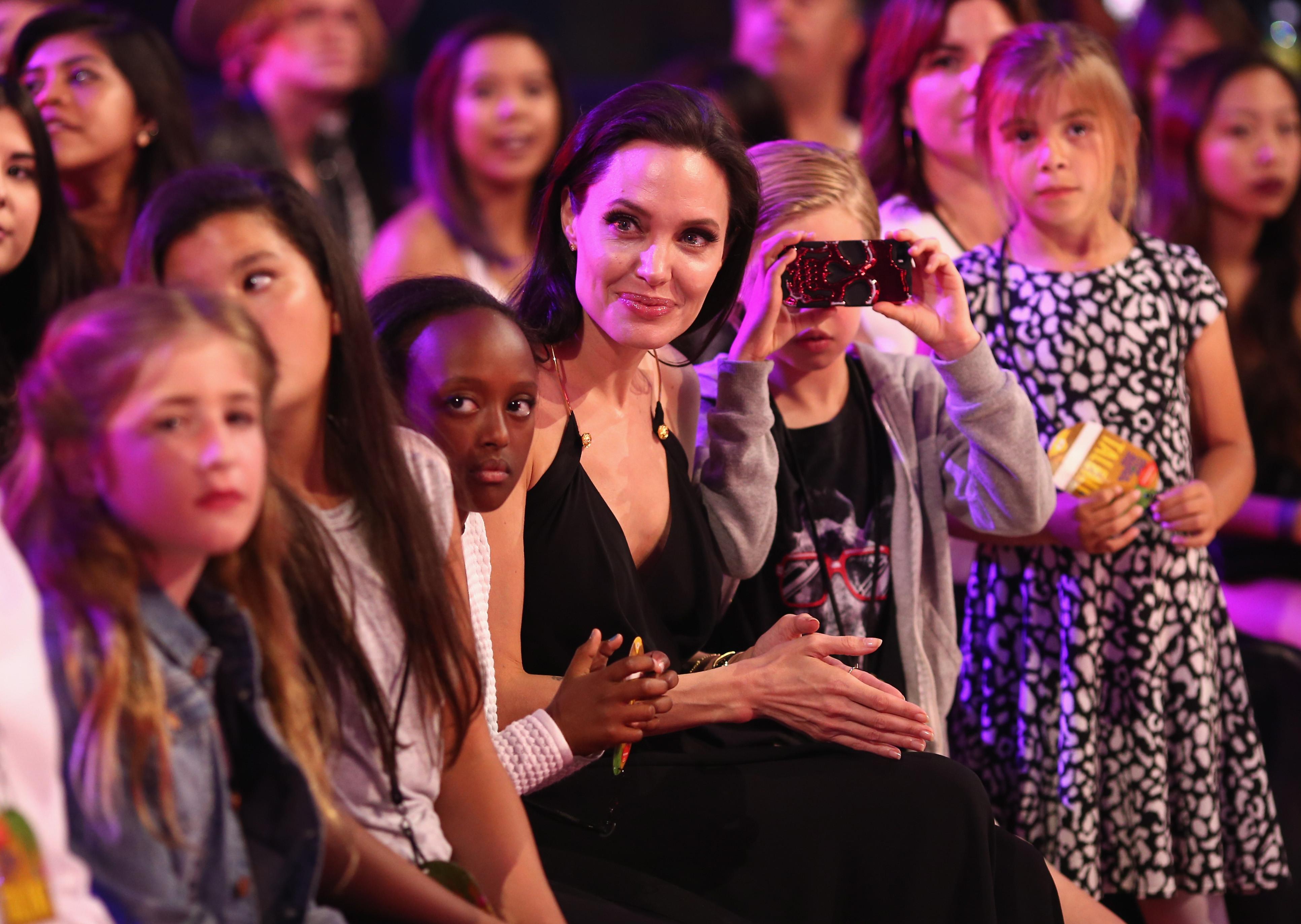 Angelina Jolie Cyborg 2 1993 happy 40th birthday, angelina jolie! | huffpost
