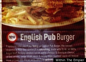 English Pub Burger