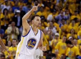 Los Warriors ganaron el primer y electrizante juego de la final NBA