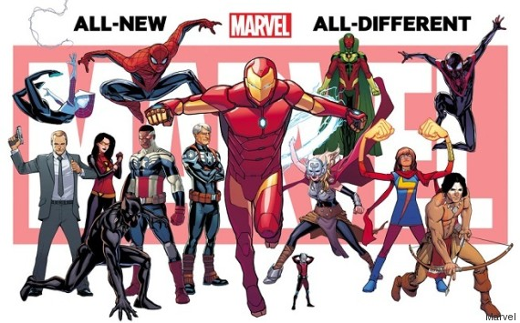 marvel super heros