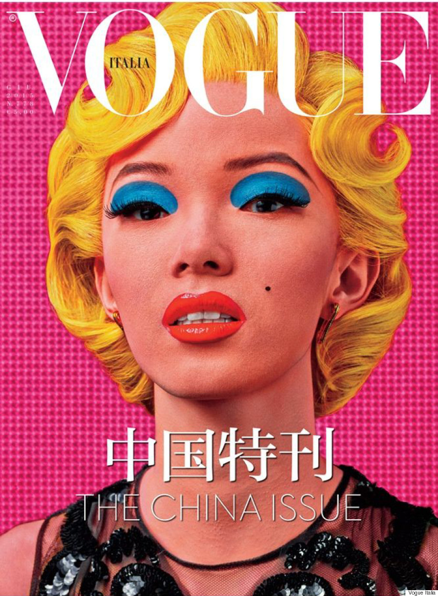 vogue italia china issue wen xiao covers ju steven latest klein dedicated ly fernanda meisel mario